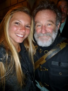 Mermaid Toni & a hairy Robin Williams!